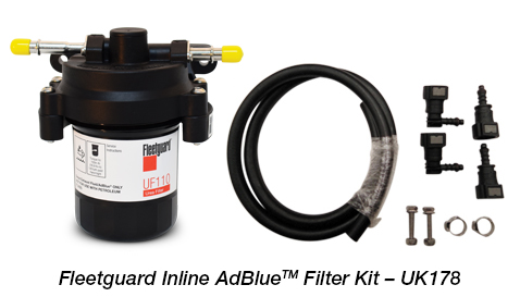 Fleetguard Inline AdBlue Filter Kit – UK177